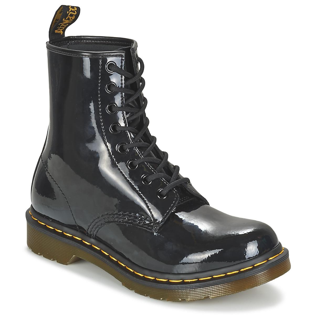 Kotnikove boty Dr Martens 1460 W Černá