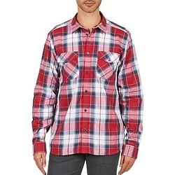 Textil Muži Košile s dlouhymi rukávy Wesc JOEY Červená