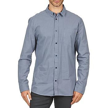 Textil Muži Košile s dlouhymi rukávy Wesc YANIK Modrá