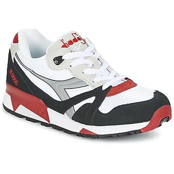 Boty Nízké tenisky Diadora N9000  NYL Bílá / Černá / Červená