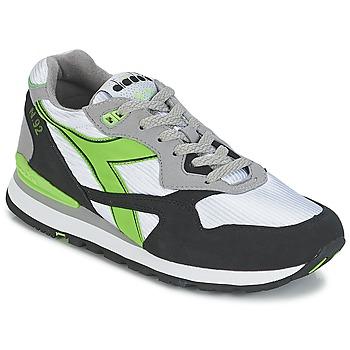 Boty Nízké tenisky Diadora N-92 Bílá / Černá / Zelená