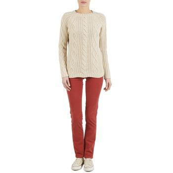 Textil Ženy Kapsáčové kalhoty Kulte PANTALON PLANCHER 101819 ROUGE Rezavá