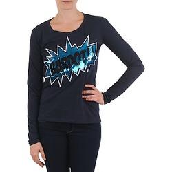 Textil Ženy Trička s dlouhými rukávy Brigitte Bardot BB43130 Modrá
