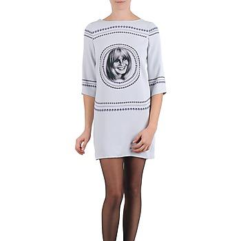 Textil Ženy Krátké šaty Brigitte Bardot BB43121 Šedá