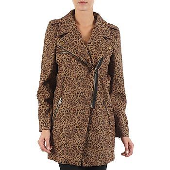 Textil Ženy Kabáty Brigitte Bardot BB43110 Hnědá