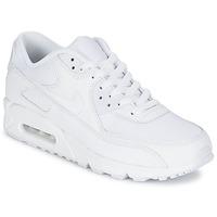 Boty Muži Nízké tenisky Nike AIR MAX 90 ESSENTIAL Bílá