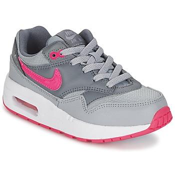 Boty Dívčí Nízké tenisky Nike AIR MAX 1 CADET Šedá / Růžová