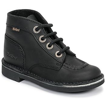 Boty Děti Kotníkové boty Kickers KICK COL Černá