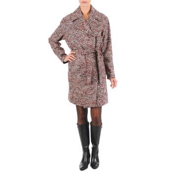 Textil Ženy Kabáty Lola MORANDI IPERYON Bordó