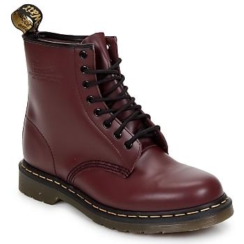 Boty Kotníkové boty Dr Martens 1460 8 EYE BOOT Červená