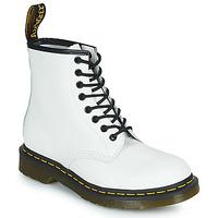 Boty Kotníkové boty Dr Martens 1460 Bílá