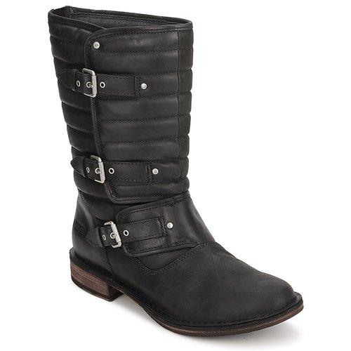 Boty Ženy Kotníkové boty UGG TATUM Černá