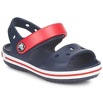 Boty Děti Sandály Crocs CROCBAND SANDAL Tmavě modrá / Červená