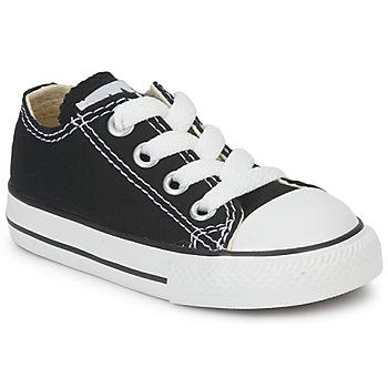 Boty Děti Nízké tenisky Converse ALL STAR OX Černá