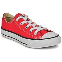 Boty Děti Nízké tenisky Converse ALL STAR OX Červená