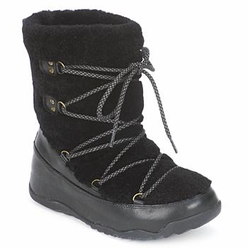Boty Ženy Zimní boty FitFlop SUPERBLIZZ Černá