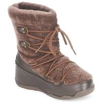 Boty Ženy Zimní boty FitFlop SUPERBLIZZ Čokoládová