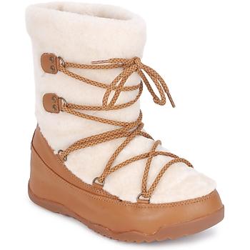 Boty Ženy Zimní boty FitFlop SUPERBLZZ Béžová / Hnědá
