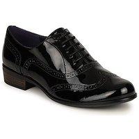 Boty Ženy Šněrovací společenská obuv Clarks HAMBLE OAK Černá