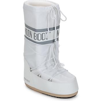 Boty Ženy Zimní boty Moon Boot CLASSIC Bílá / Stříbrná