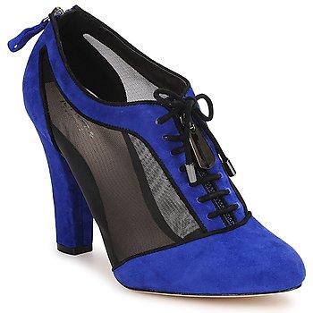 Boty Ženy Nízké kozačky Bourne PHEOBE Modrá