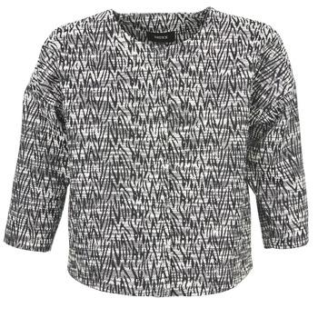 Textil Ženy Saka / Blejzry Mexx MX3002331 Černá / Bílá
