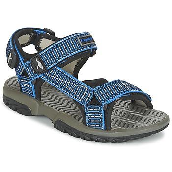 Boty Chlapecké Sandály Kangaroos KS 22 Modrá