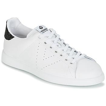 Boty Ženy Nízké tenisky Victoria DEPORTIVO BASKET PIEL Bílá / Černá