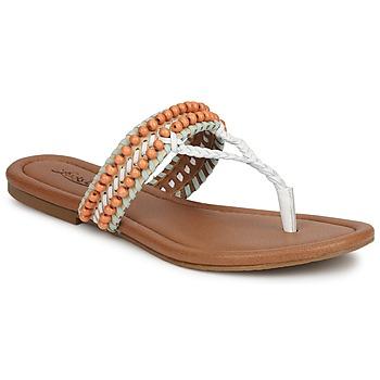 Boty Ženy Sandály Lucky Brand DOLLIS Bílá