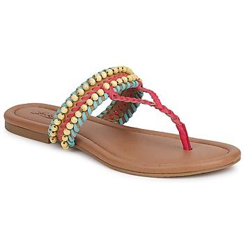 Boty Ženy Sandály Lucky Brand DOLLIS Tmavá / Velbloudí hnědá / Beránek / Modrá