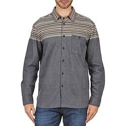 Textil Muži Košile s dlouhymi rukávy Element LENOX Šedá