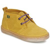 Boty Chlapecké Kotníkové boty El Naturalista KEPINA Žlutá