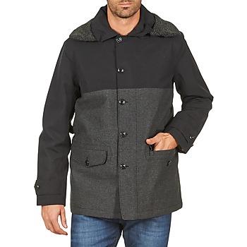 Textil Muži Kabáty Aigle SHERPAFIELD Černá / Šedá