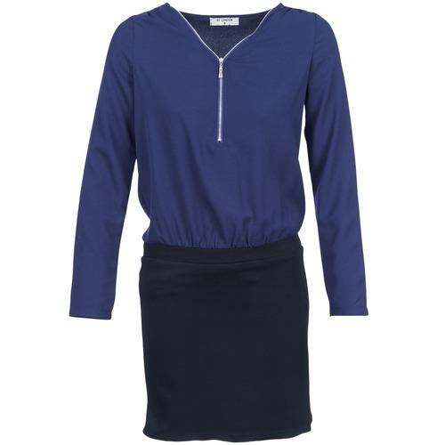 Textil Ženy Krátké šaty Betty London DEYLA Černá / Tmavě modrá