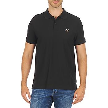 Textil Muži Polo s krátkými rukávy Chevignon O DUCK Černá