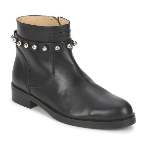 Boty Ženy Kotníkové boty Moschino Cheap & CHIC CA21102MOYCE0000 Černá