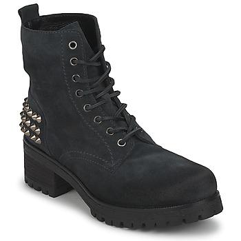 Polokozačky / Kotníkové boty JFK SIMAIT Černá 350x350
