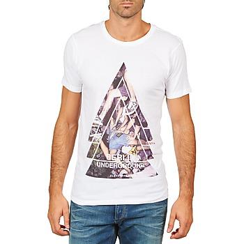 Textil Muži Trička s krátkým rukávem Eleven Paris BERLIN M MEN Bílá
