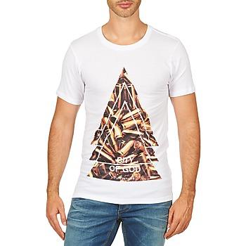 Textil Muži Trička s krátkým rukávem Eleven Paris CITYGOD M MEN Bílá