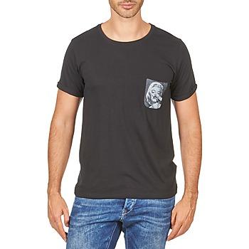 Textil Muži Trička s krátkým rukávem Eleven Paris MARYLINPOCK MEN Černá