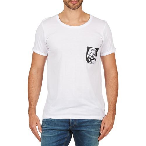 Textil Muži Trička s krátkým rukávem Eleven Paris MARYLINPOCK MEN Bílá