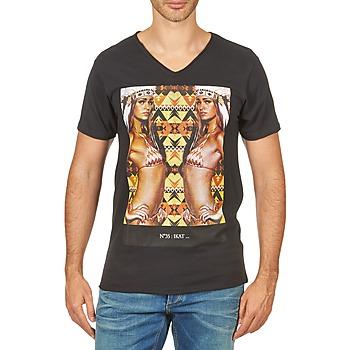 Textil Muži Trička s krátkým rukávem Eleven Paris N35 M MEN Černá