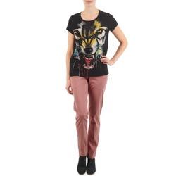 Textil Ženy Mrkváče Eleven Paris PANDORE WOMEN Růžová
