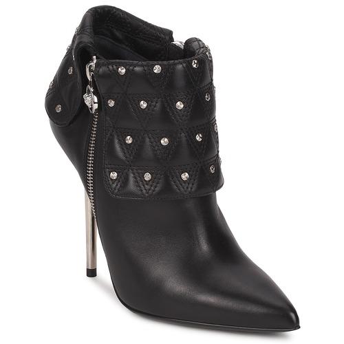 Boty Ženy Polokozačky Versace DSL894P Černá