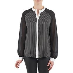 Textil Ženy Košile / Halenky Manoukian RAGANE Černá