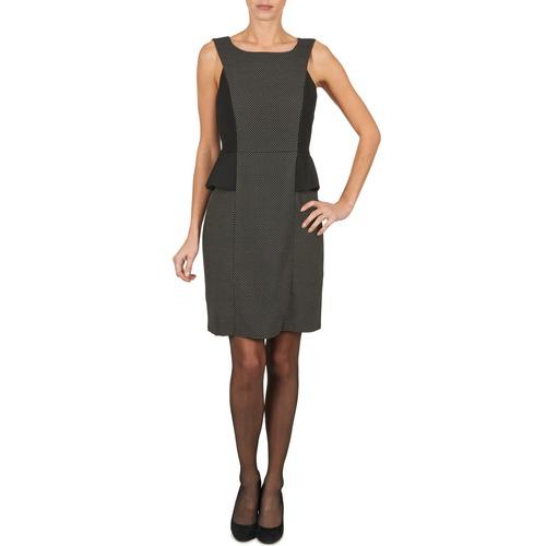 Textil Ženy Krátké šaty Manoukian PEPLUM Černá