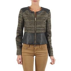 Textil Ženy Saka / Blejzry Manoukian QUEELT Černá / Zlatá