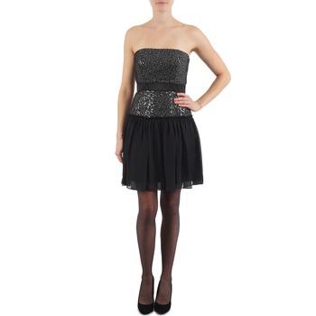 Textil Ženy Krátké šaty Manoukian JENNI Černá