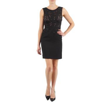 Textil Ženy Krátké šaty Manoukian EILEEN Černá
