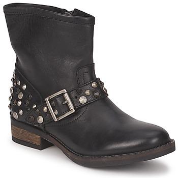 Kotníkové boty Pieces ISADORA LEATHER BOOT